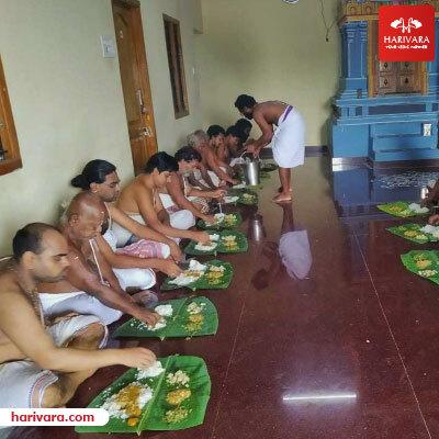 Annadhanam for Brahmins