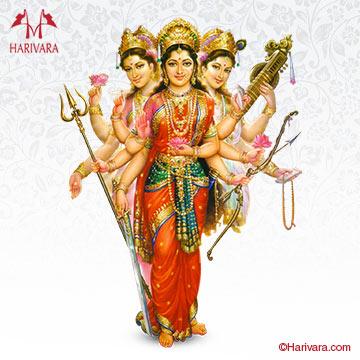 Durga Lakshmi Saraswati Homam