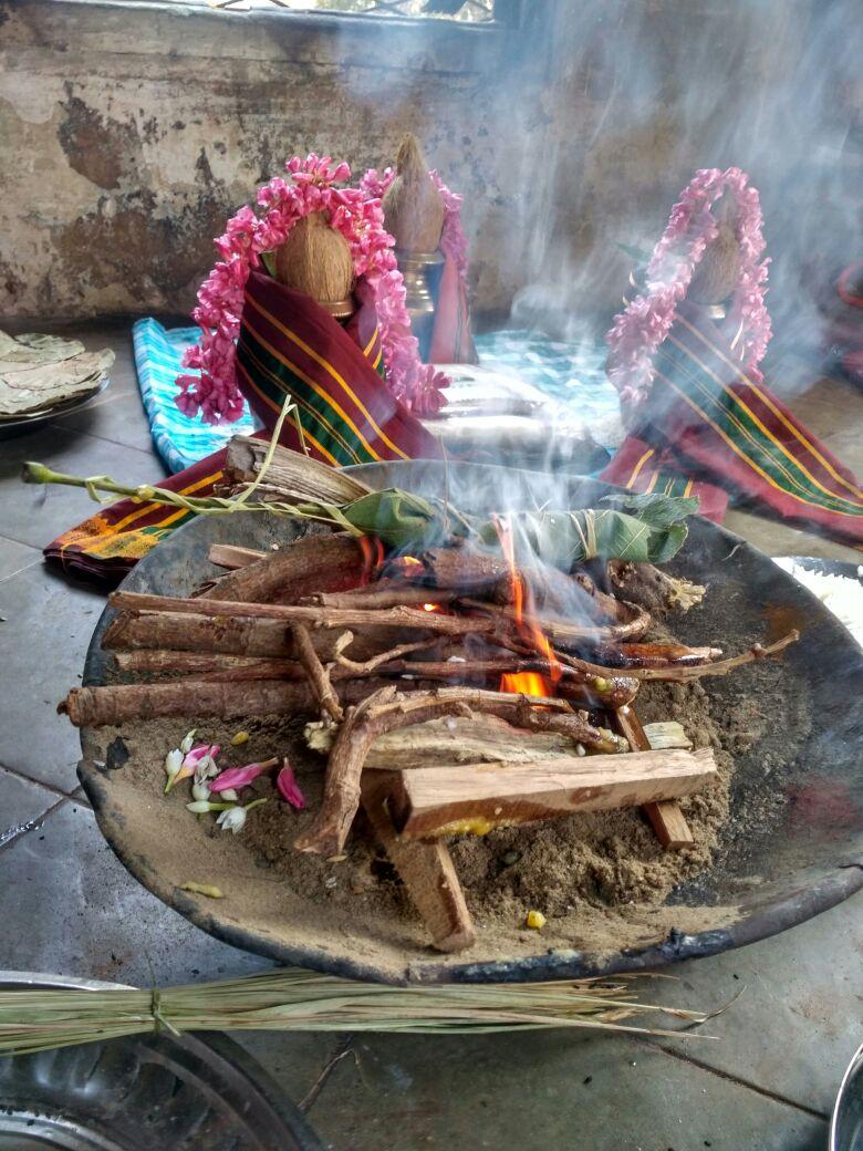 Samvatsarikam  – First Year ceremony – Brahmins