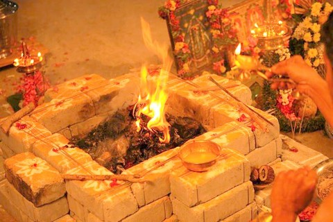 Thila Homam at Thirupullani