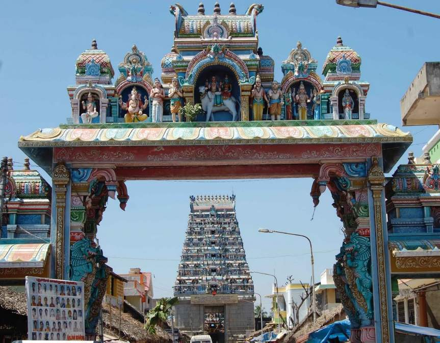 Pariharam for Sani – Dharbaranyeswarar Temple (Thirunallar)