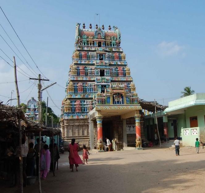 Pariharam for Sukran – Agniswarar Temple (Kanjanur)