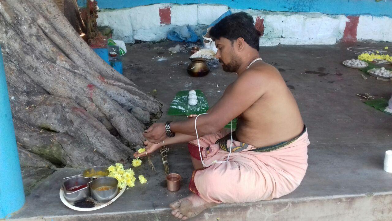 Thithi at Rameswaram